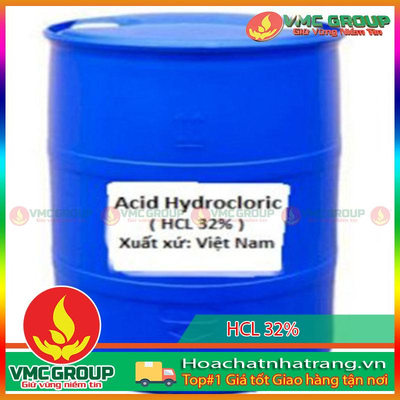 Axit Clohidric HCl 32% HCNT