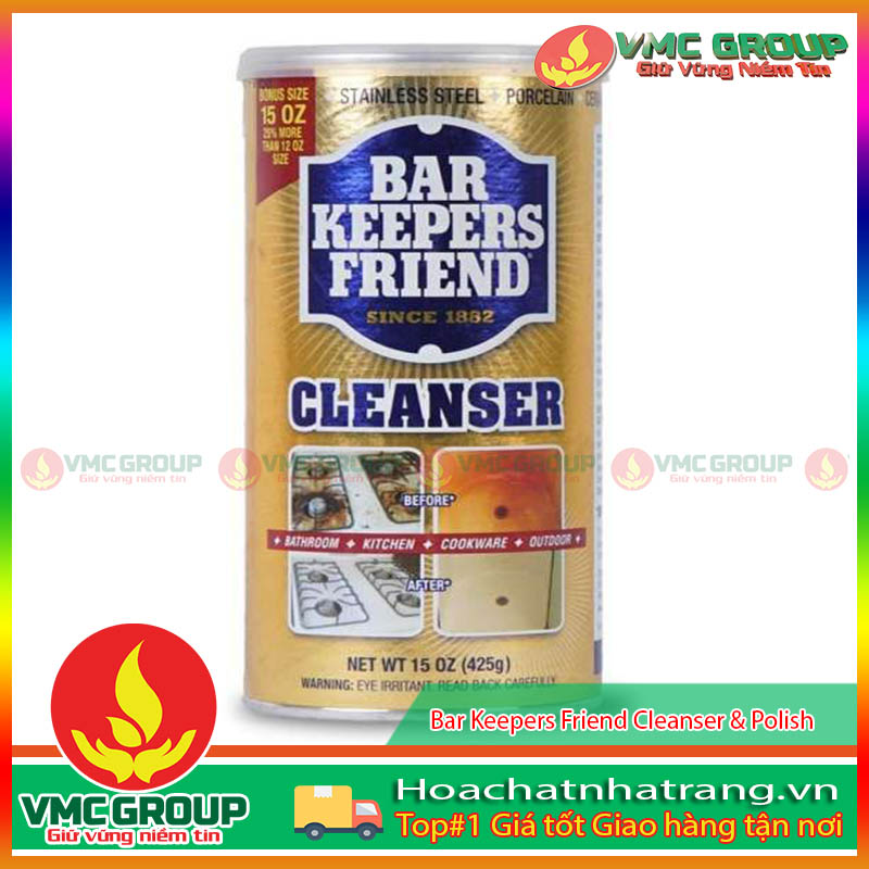 BỘT BAR KEEPERS FRIEND CLEANSER & POLISH