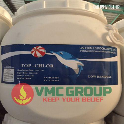 Clorin Trung Quoc 70% Top chlor
