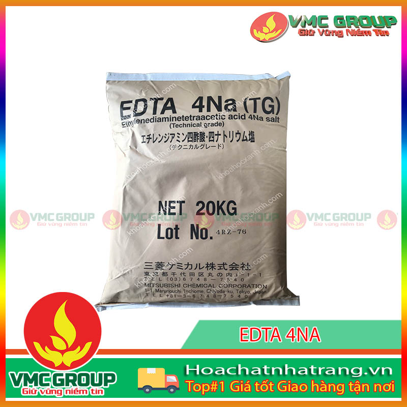 EDTA -4 NA ETHYLENEDIAMINETETRACETIC ACID HCNT