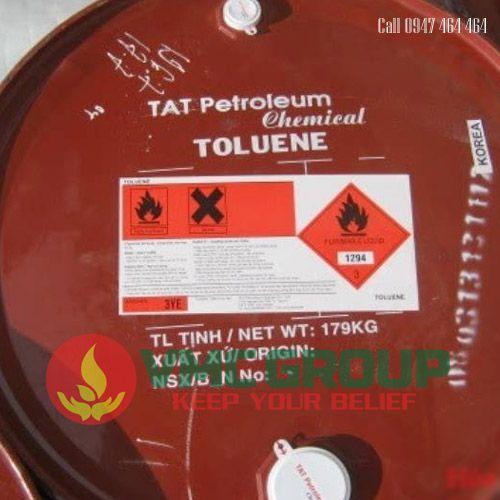 dung moi TOLUENE C7H8 Methyl Benzene phuy 179kg