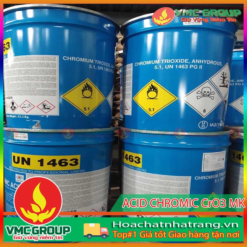 ACID CROMIC – H2CrO4 – HCNT