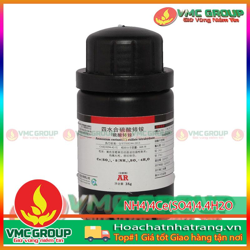 (NH4)4Ce(SO4)4.4H2O - AMMONIUM CERIUM (IV) SULFATE TETRAHYDATE HCNT
