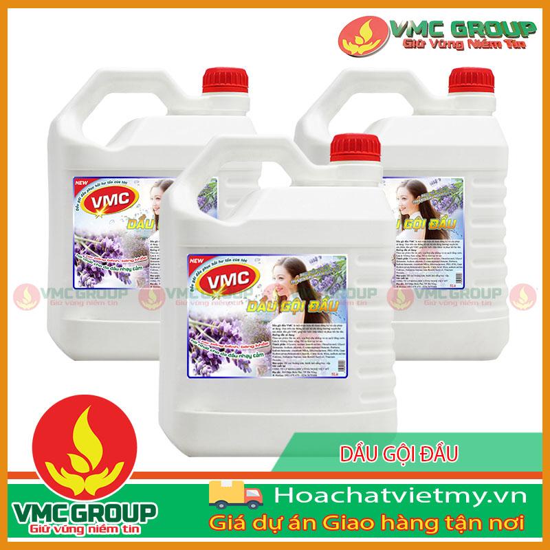 DẦU GỘI ĐẦU VMC CAN 5 LIT HCNT