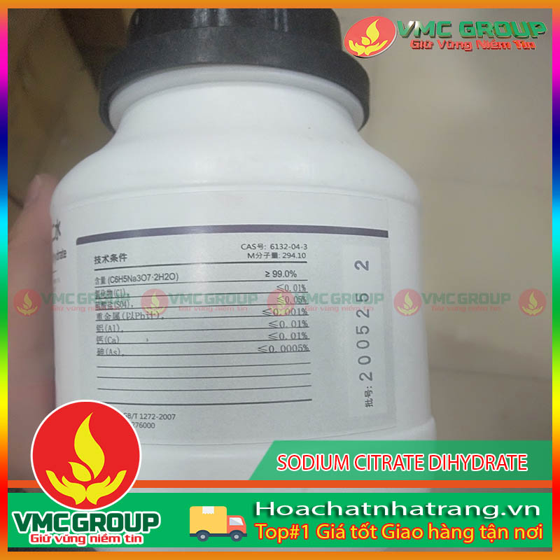 BÁN SODIUM CITRATE DIHYDRATE