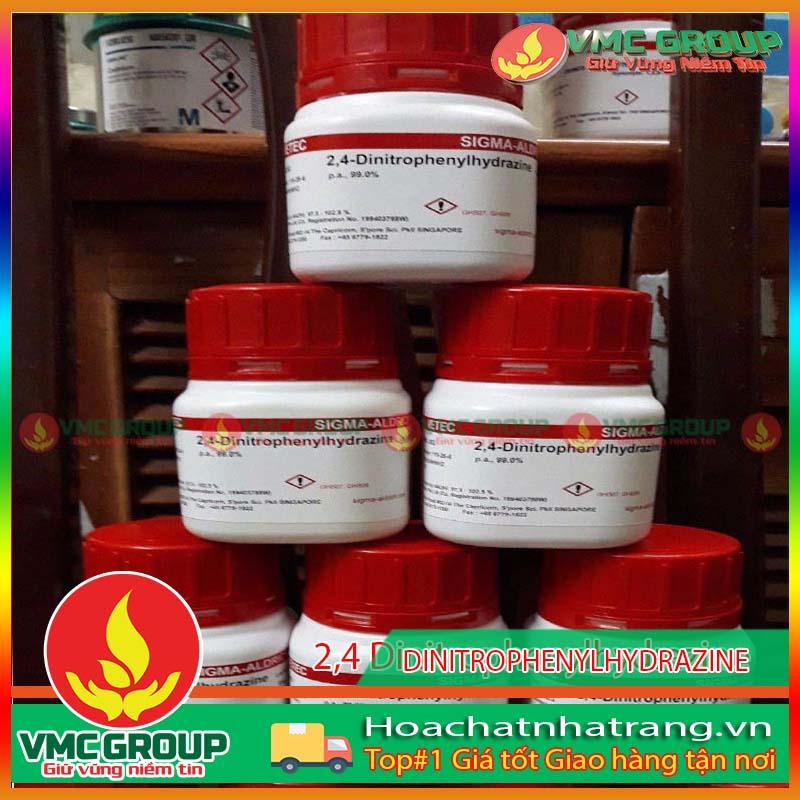 2,4 DINITROPHENYLHYDRAZINE C6H6N4O4 HCNT
